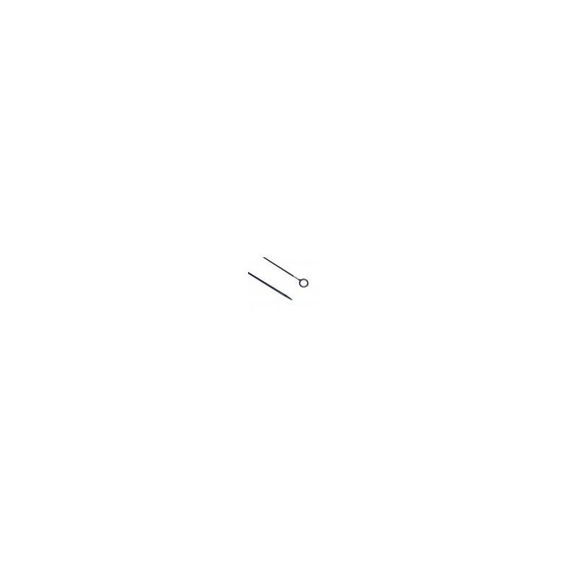 Draadpen dicht/open oog 400x10mm