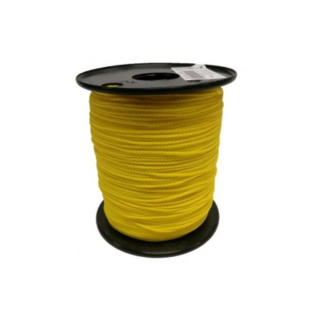 Nylon koord 1.5mm 200m geel