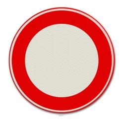 Verkeersbord C01 Geslotenverklaring