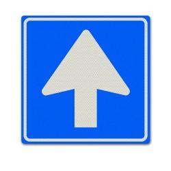 Verkeersbord C03 – Verplichte rijrichting