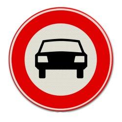 Verkeersbord C06 – Gesloten voor voertuigen