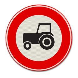Verkeersbord C08 – Gesloten voor tractoren