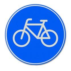 Verkeersbord G11 Verplicht fietspad
