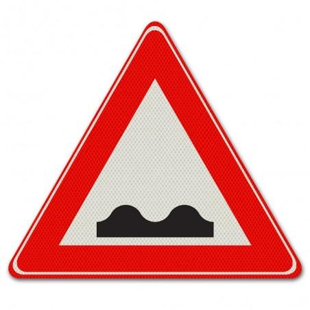 Driehoeksbord J01 Slecht wegdek