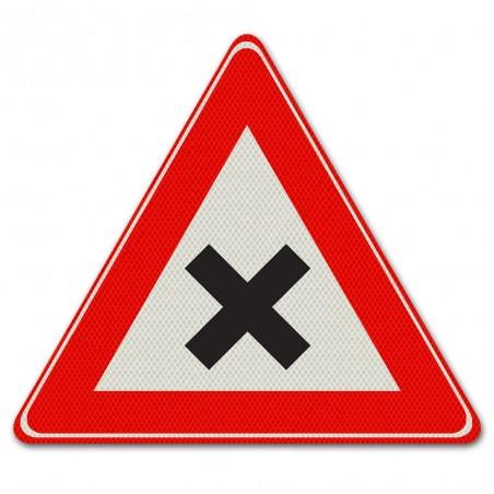 Driehoeksbord J08 – Gevaarlijk kruispunt