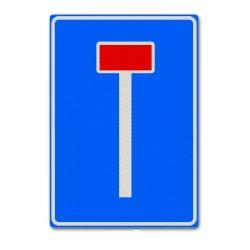 Verkeersbord L08 Doodlopende weg